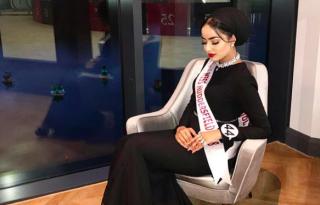 Először van hijabos lány a Miss England döntőjében