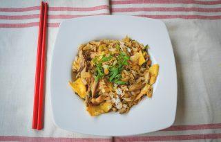 Egzotikus őszi villámvacsora: kínai sült rizs gombával