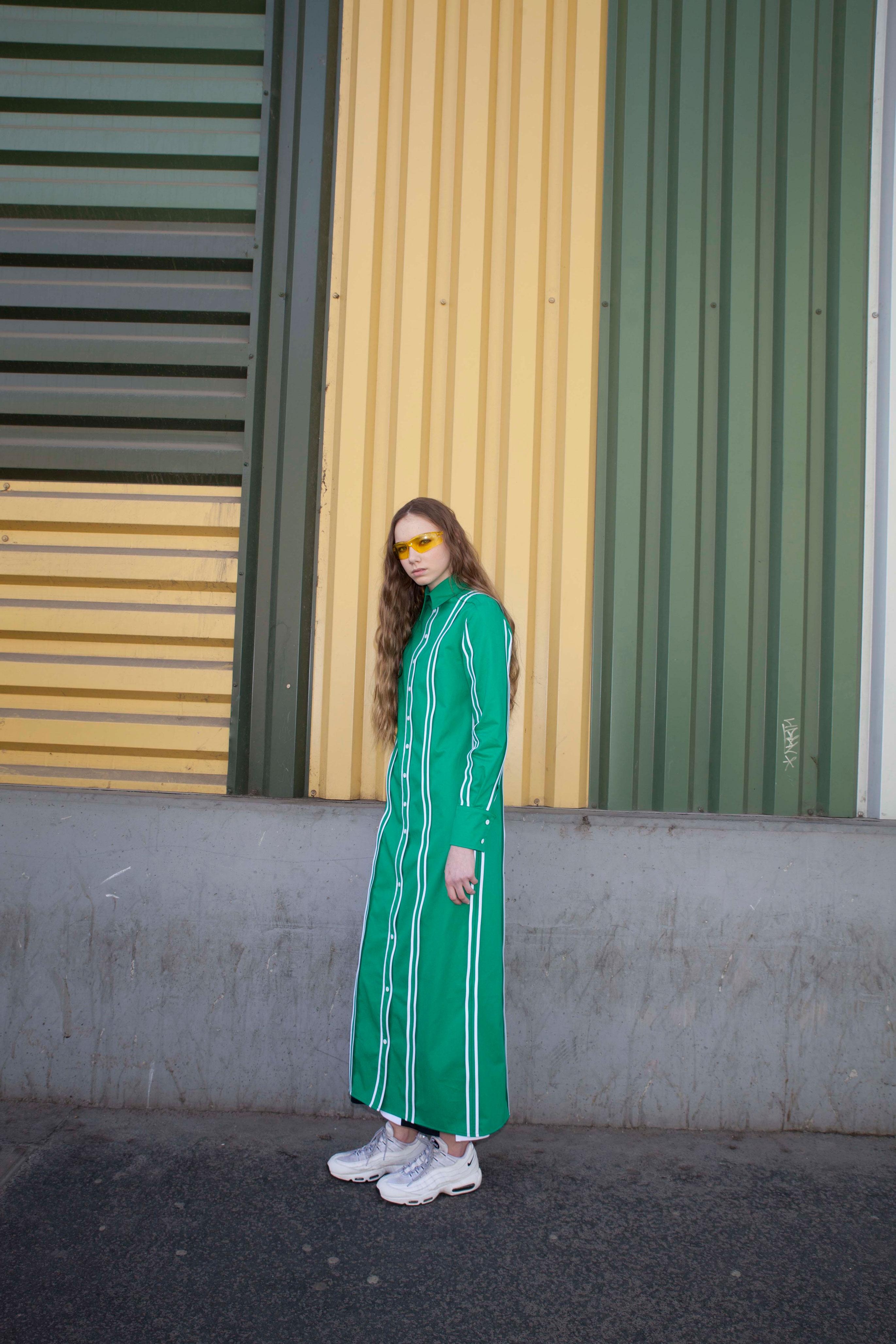 9. kép: A kelet-európai identitásra építő divatmárka, az OST