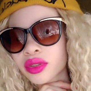 A legszebb albínó modell