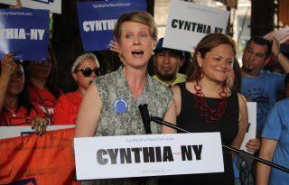 Cynthia Nixon nem lesz kormányzó