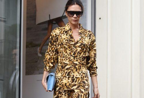 Victoria Beckham istenien fest a saját kollekciójában is