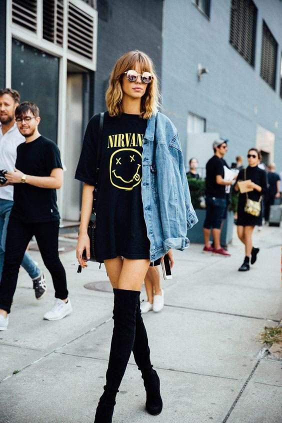 Tudtad? Így kell hordani ruhát csizmával! | Marie Claire