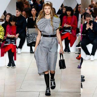 Morcos arcok és izgalmas rétegezés a Miu Miu Paris Fashion Week show-ján