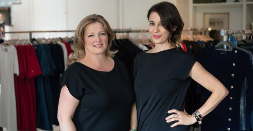 Feltörekvők: Somfalvi Erika és Varga Tina, az Enemy in the Wardrobe tervezői