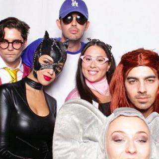Joe Jonas Sansa Starknak öltözött Halloweenkor