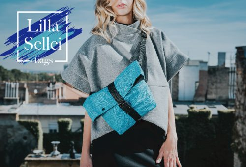 Ússz az árral – itt a kék táska trend a Lilla Sellei Bags kollekciójában is