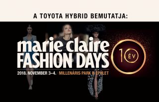 Marie Claire Fashion Days Programok 2018