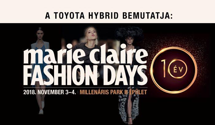 Marie Claire Fashion Days Programok 2018