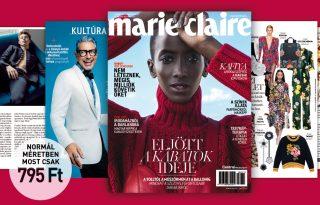 Címlap videóval – a novemberi Marie Claire