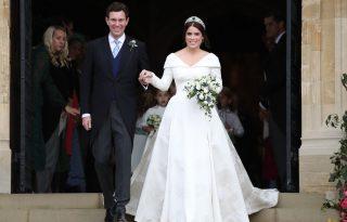 Csodaszép volt Eugénia york-i hercegnő esküvője –itt a hivatalos fotósorozat az ifjú párról