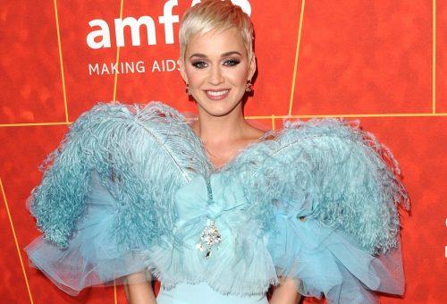 Katy Perryt nem lehetett nem észrevenni az AmfAR gálán