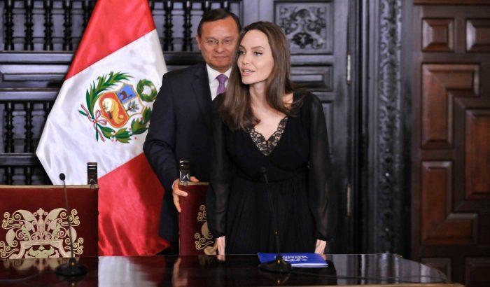 Angelina Jolie ezúttal menekülteknek segít