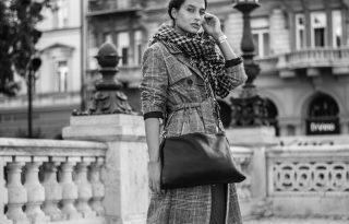 Nagyvárosi sikk friss divatfotókon