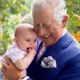 Károly herceg és legkisebb unokája a legédesebb ma