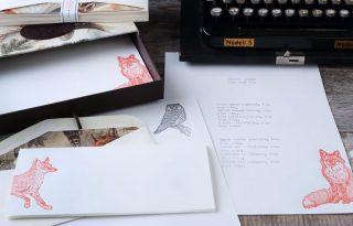 Nagyon állat a Bomo Art új letterpress levélpapír szériája