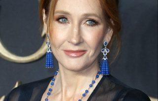 J. K. Rowling istenien festett az új Harry Potter-film premierjén