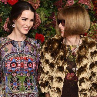 Elképesztően csinos volt Anna Wintour a lányával