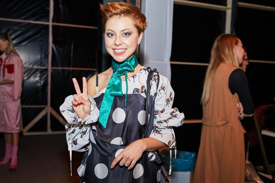 12. kép: Döbrösi Laura a Cukovy modellje volt