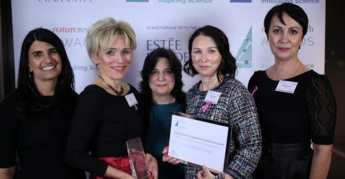 Díjat nyert a Nők a Tudományban Egyesület