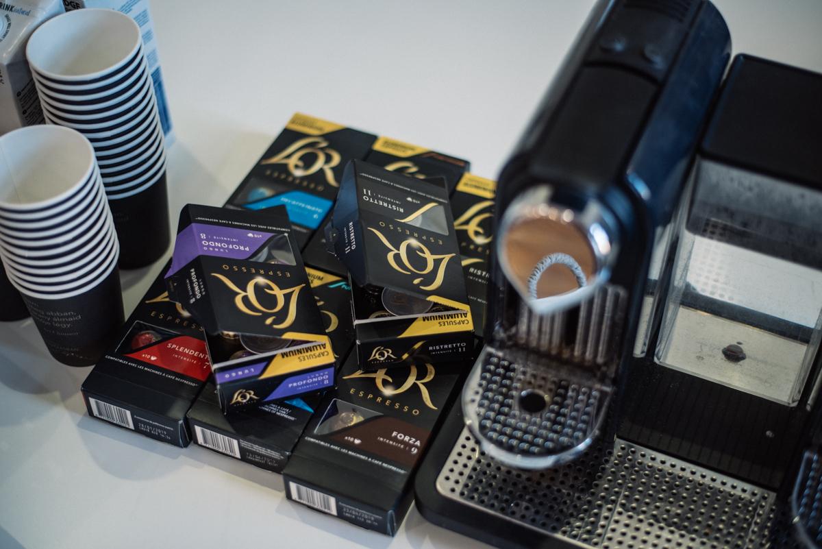12. kép: Különleges kávékapszulák a L'Or-tól