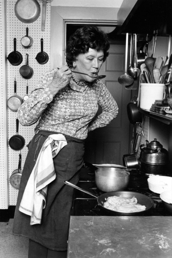 8. kép: Julia Child sem maradhat ki a sorból...