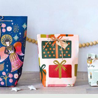 Készíts kreatív ajándéktáskát karácsonyra