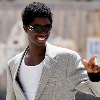 Alton Mason az első fekete férfi, aki végigsétálhatott a Chanel kifutóján