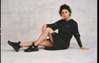 Selena Gomez tervezte az új Puma kollekciót
