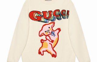 Luxuskollekció a disznó évére a Guccitól