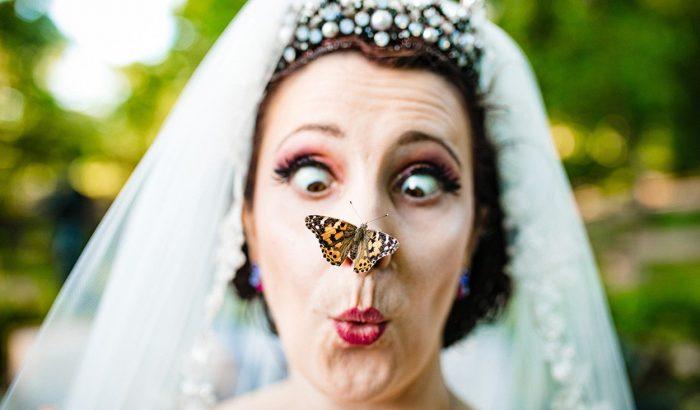 A világ legviccesebb esküvői fotói