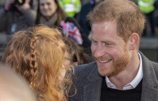 Harry herceg megölelgette #GingersUnite táblával álló kis rajongóját