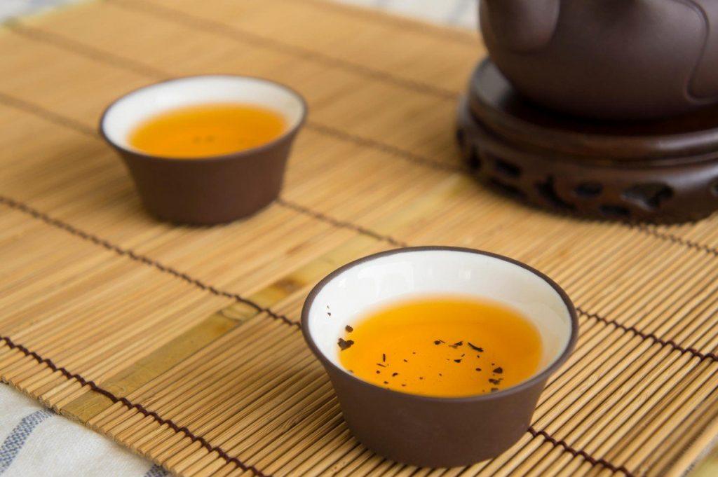 Fogyni teával