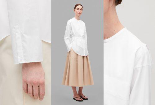 Itt a COS White Shirt projektje