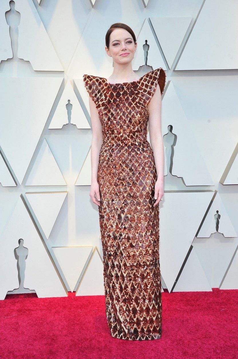 2. kép: A Louis Vuittontól választott Emma Stone