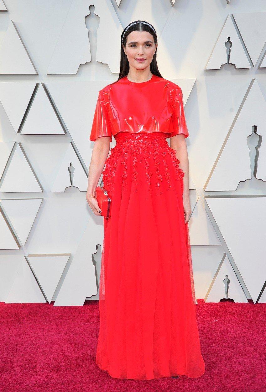 5. kép: Rachel Weisz egy Givenchy ruhában
