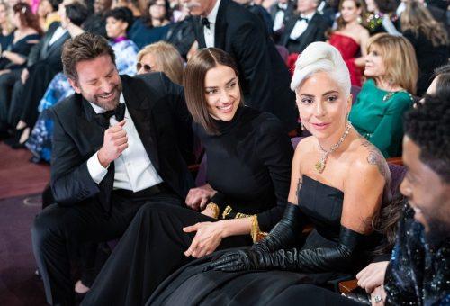 Irina Shayk királynői módon reagált Bradley Cooper és Lady Gaga duettjére