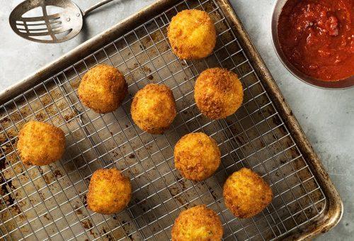 Arancini, olasz finomság vegán verzióban