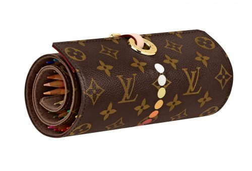 Louis Vuitton luxus ceruzatartóval nosztalgiázik