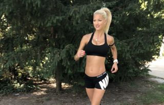 """""""Számomra a futás a legjobb gyógyszer"""" – Gregori Dóra, modell"""