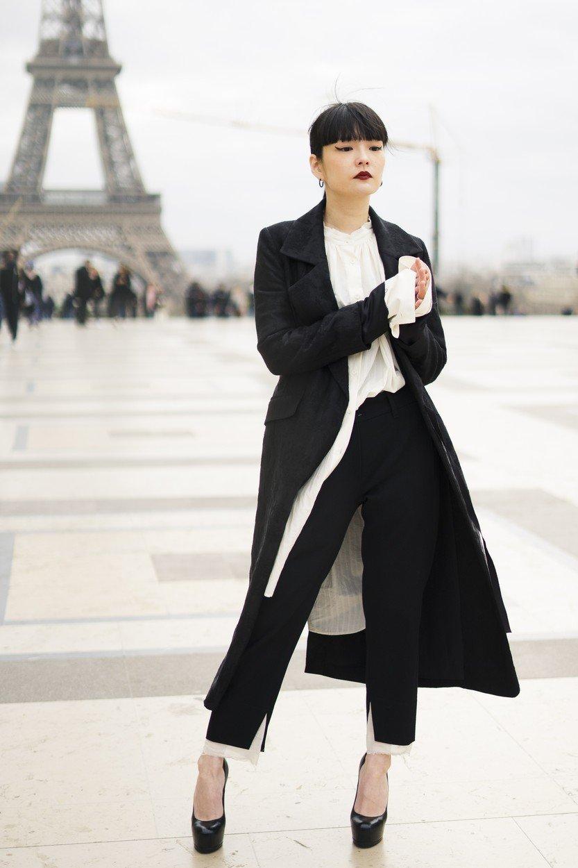 c10047e9e1 Street style inspiráció Párizs utcáiról | Marie Claire