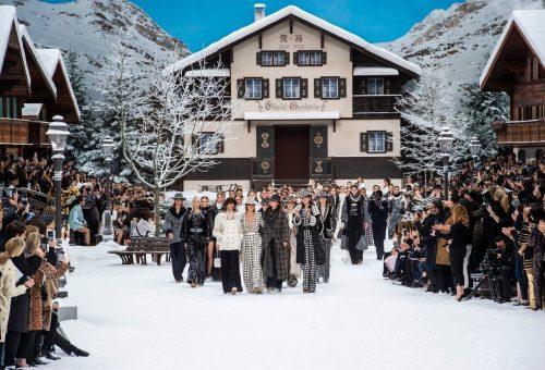 Téli csodavilág a Chanel kifutóján
