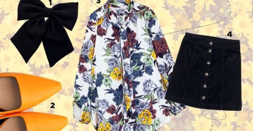 Virágos tavaszi ruha három testalkatra