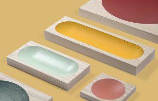 Gyönyörű tálcakészlet a minimalizmus rajongóinak