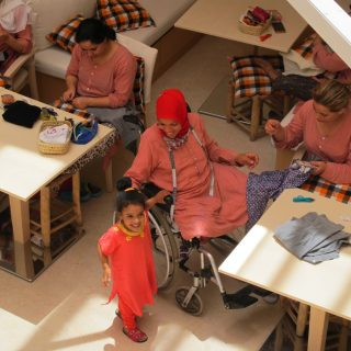 Mozgássérült nőknek segít a marokkói vállalkozás