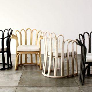 Luxus rattan bútorok indonéz tervezőtől