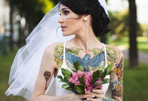 Tetovált menyasszonyok az Instagram új szupersztárjai
