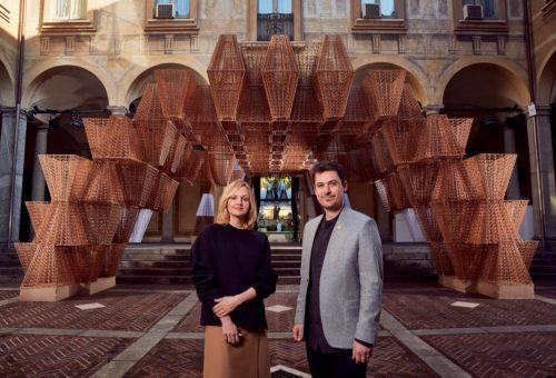 Izgalmas installációval készült a COS a milánói dizájnhétre