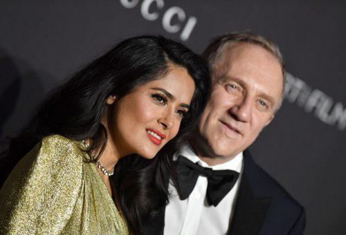 Salma Hayek férje hatalmas összeggel segíti a Notre-Dame újjáépítését