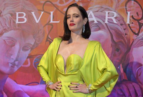 Eva Green egy vintage ruhát választott a Bvlgari eseményére